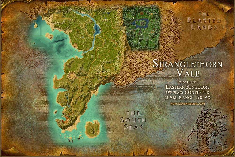 Image Gallery stranglethorn map