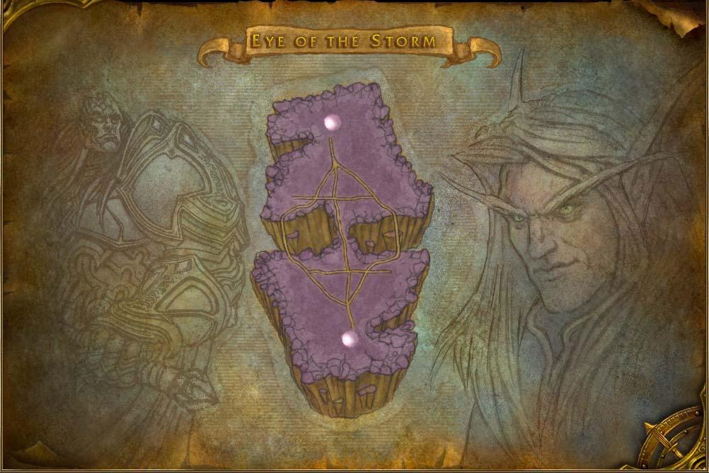 Eye Of The Storm Map With Locations Npcs And Quests World Of Warcraft